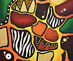 Abstract Africa by Gemma Roberts