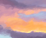 Sunset Colour Study by Gemma Roberts